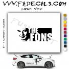 Fons Rademakers Movie Logo Decal Sticker