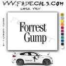 Forrest Gump Movie Logo Decal Sticker