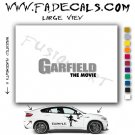 Garfield Movie Logo Decal Sticker