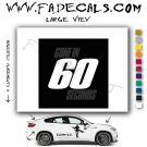 Gone in 60 Seconds Movie Logo Decal Sticker