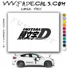 Initial D Movie Logo Decal Sticker
