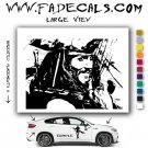 Jack Sparrow Pirates Movie Logo Decal Sticker