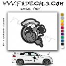 Johnny Chimpo Super Troopers Movie Logo Decal Sticker