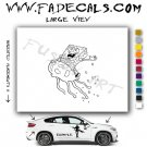 Sponge Bob Square Pants Cartoon Style#2 Decal Sticker