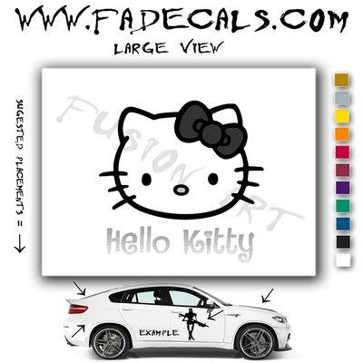 Hello Kitty Decal Sticker