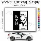 RYU Scarface Decal Sticker