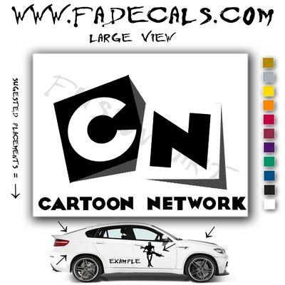 Cartoon Network Decal Sticker