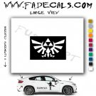 Zelda Triforce Video Game  Logo Decal Sticker