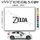 Zelda Video Game  Logo Decal Sticker