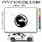 Mortal Kombat  Video Game  Logo Decal Sticker
