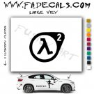 Half Life 2 Style #2 Video Game  Logo Decal Sticker