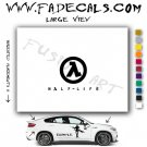 Half Life Video Game  Logo Decal Sticker