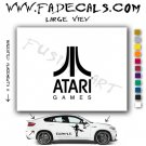 Atari Games Video Game  Logo Decal Sticker