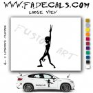 Alien ET Extra-Terrestrial S.E.T.I. Area 51 Silhouettes #14 (Decal - Sticker)