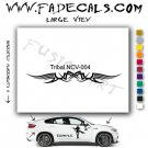 Tribal Tattoo Element Style 4 Logo Decal Sticker