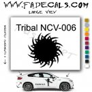 Tribal Tattoo Element Style 6 Logo Decal Sticker