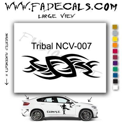 Tribal Tattoo Element Style 7 Logo Decal Sticker