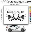 Tribal Tattoo Element Style 8 Logo Decal Sticker