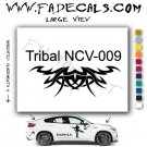 Tribal Tattoo Element Style 9 Logo Decal Sticker