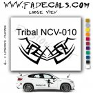 Tribal Tattoo Element Style 10 Logo Decal Sticker