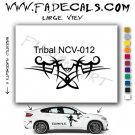 Tribal Tattoo Element Style 12 Logo Decal Sticker