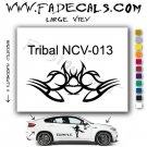 Tribal Tattoo Element Style 13 Logo Decal Sticker