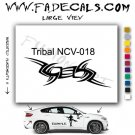 Tribal Tattoo Element Style 18 Logo Decal Sticker