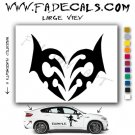 Valentines Day Heart 2 Vinyl Logo Decal Sticker