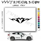 Valentines Day Heart 6 Vinyl Logo Decal Sticker