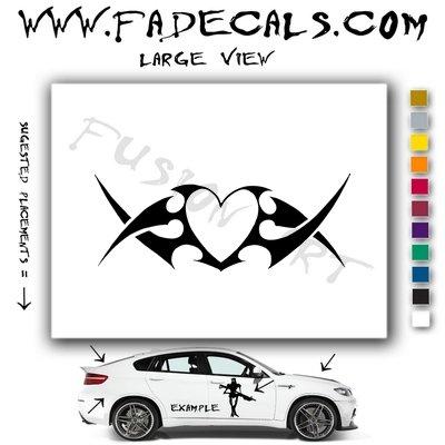 Valentines Day Heart 9 Vinyl Logo Decal Sticker