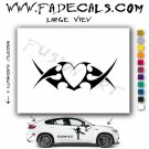 Valentines Day Heart 9 Vinyl Logo Decal Sticker