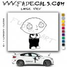 Stewie Griffin Family Guy Vinyl Decal & Sticker