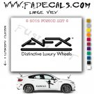AFX Aftermarket Logo Die Cut Vinyl Decal Sticker