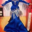 BARBIE Grand Ole Opry FANCY BLUE silkstone GOWN dress