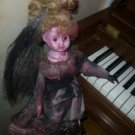 "BLOODY BABY doll HALLOWEEN Gothic OOAK 18"" DEAD doll"