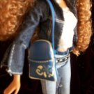 FUN BLUE long BARBIE purse HANDBAG hand bag 2