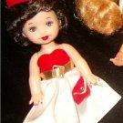 VINTAGE REPRO BARBIE KELLY SILKIN FLAME Mini Doll CUTE