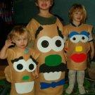 2 Mr MRS Potato Head Costume MOVABLE m l xl 1x 3X 4x