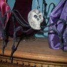 PET SKULL Spider 1/6 scale HAlloween decor OOAK GOTHIC