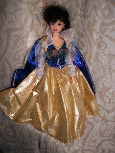 Fancy Gown dress SNOW WHITE snowhite Disney barbie DOLL