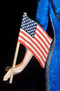 AMERICAN FLAG USA UNited states of america pendant 1/6