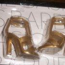 BARBIE BASICS ModelMuse Gold Sandals Shoes model muse