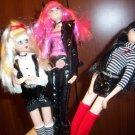 LOLLIPOP GIRLS JAN MCLEAN lolli pop girl set lot 3 deboxed RARE dolls CUTE