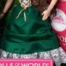 HOT NEW GREEN IRELAND IRISH DOLLS OF THE WORLD DRESS GOWN ONLY FASHION 2011