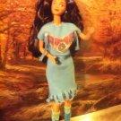 TEAL HANDMADE outfit Native American INDIAN OOAK Barbie
