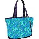 High Sierra Shelby Tote - Blue Bolts-Amethyst, NWT - School Tote Bag