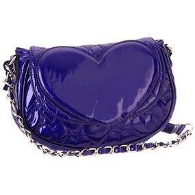 Betsey Johnson Cobalt Mine & Yours Crossbody Purse, NWT
