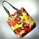 Simply Vera Wang | Floral Tote Beach Bag Purse| Free Ship