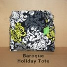 Vera Bradley Holiday 2010 Tote in Baroque, NWT, Reversible, Free Ship