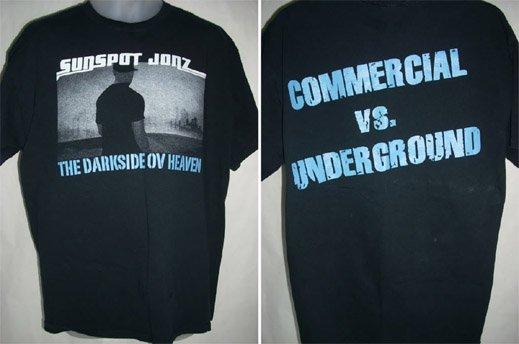 """Sunspot Jonz - """"The Darkside Ov Heaven"""" T-Shirt"""